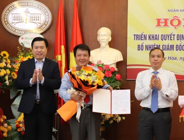 Ông Đặng Hồng Lĩnh giữ chức Giám đốc Ngân hàng Nhà nước chi nhánh Phú Yên - Ảnh 1.