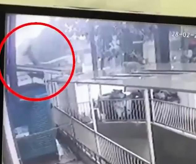 """""""Người hùng"""" Nguyễn Ngọc Mạnh cứu bé gái 3 tuổi rơi từ tầng 13 lên báo nước ngoài - Ảnh 1."""