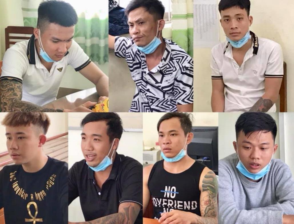 """An Giang: 7 thanh niên mang nhiều hung khí """"nóng"""" đi đòi nợ - Ảnh 1."""