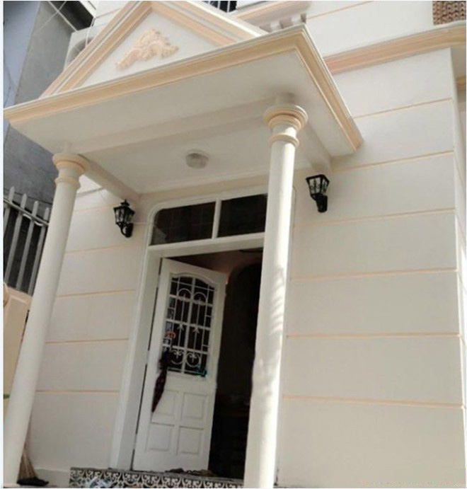 Ngôi nhà của Lưu Hương Giang và Hồ Hoài Anh tại thành phố Hồ Chí Minh.