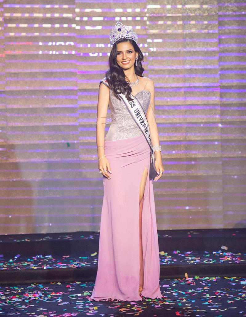 Chiêm ngưỡng vẻ đẹp lai đầy quyến rũ của Hoa hậu Lào đẹp nhất lịch sử - Ảnh 1.