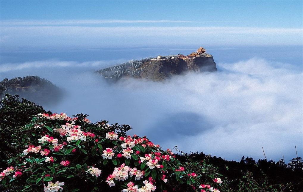 8 ngọn núi huyền thoại từng xuất hiện trong tiểu thuyết kiếm hiệp Kim Dung - Ảnh 1.
