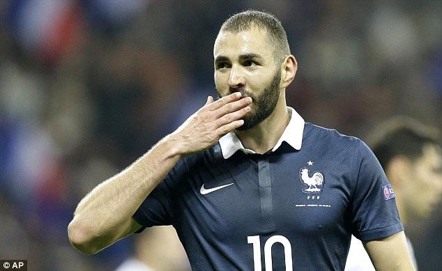 Pháp sẽ mạnh hơn nếu có Benzema.