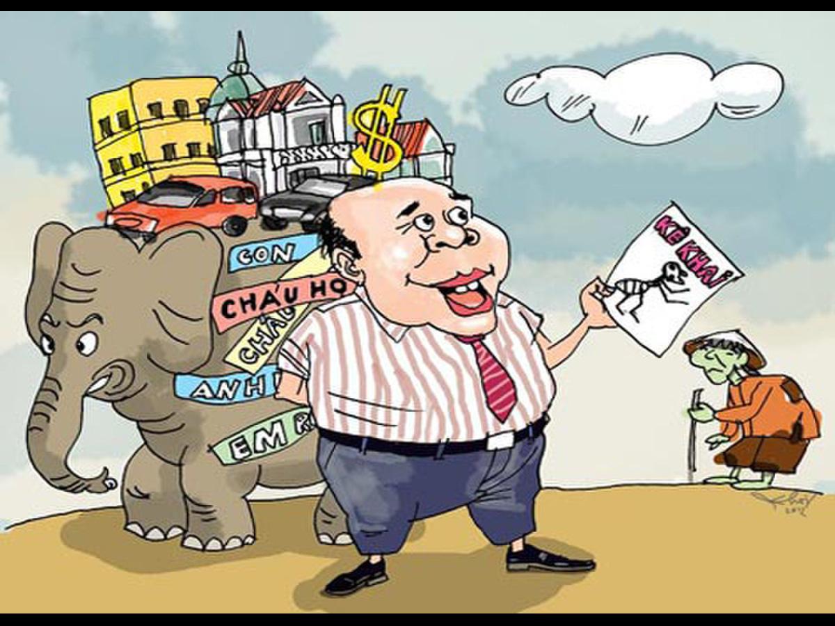 Bộ Nội vụ lên kế hoạch kiểm soát tài sản, thu nhập của quan chức - Ảnh 1.