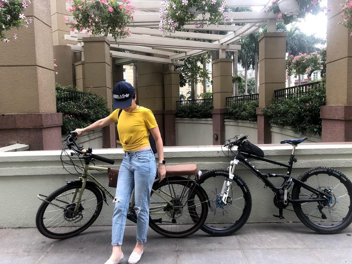 """Dân Hà Nội rộ mốt """"độ"""" xe đạp trợ lực điện, chạy vèo vèo đi làm, dạo phố - Ảnh 4."""