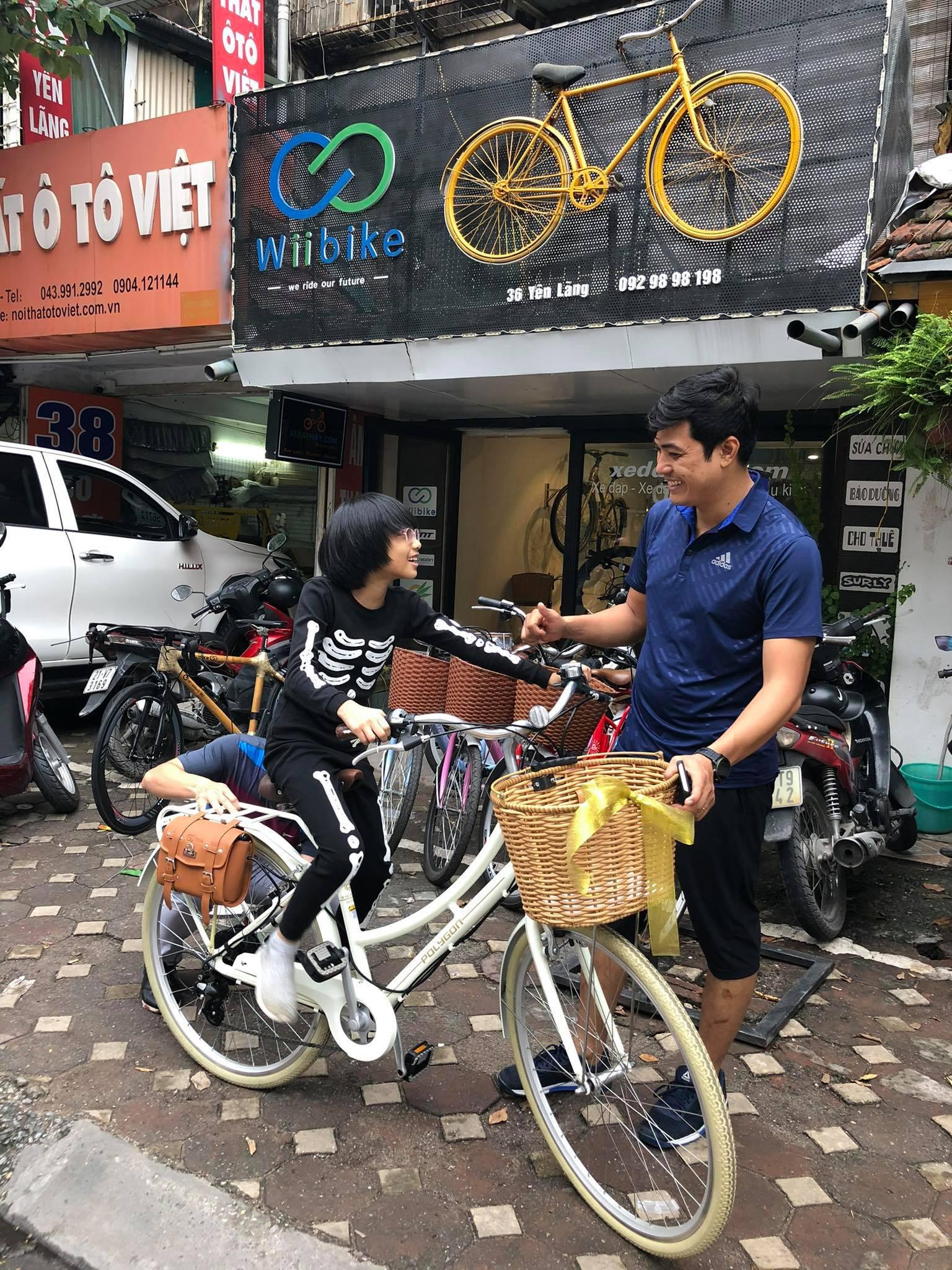 """Dân Hà Nội rộ mốt """"độ"""" xe đạp trợ lực điện, chạy vèo vèo đi làm, dạo phố - Ảnh 10."""