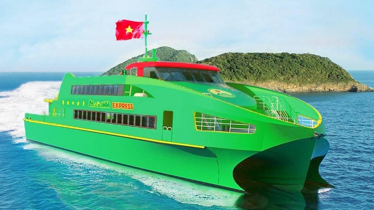 Những hình ảnh lung linh về tàu cao tốc Mai Linh - Ảnh 1.
