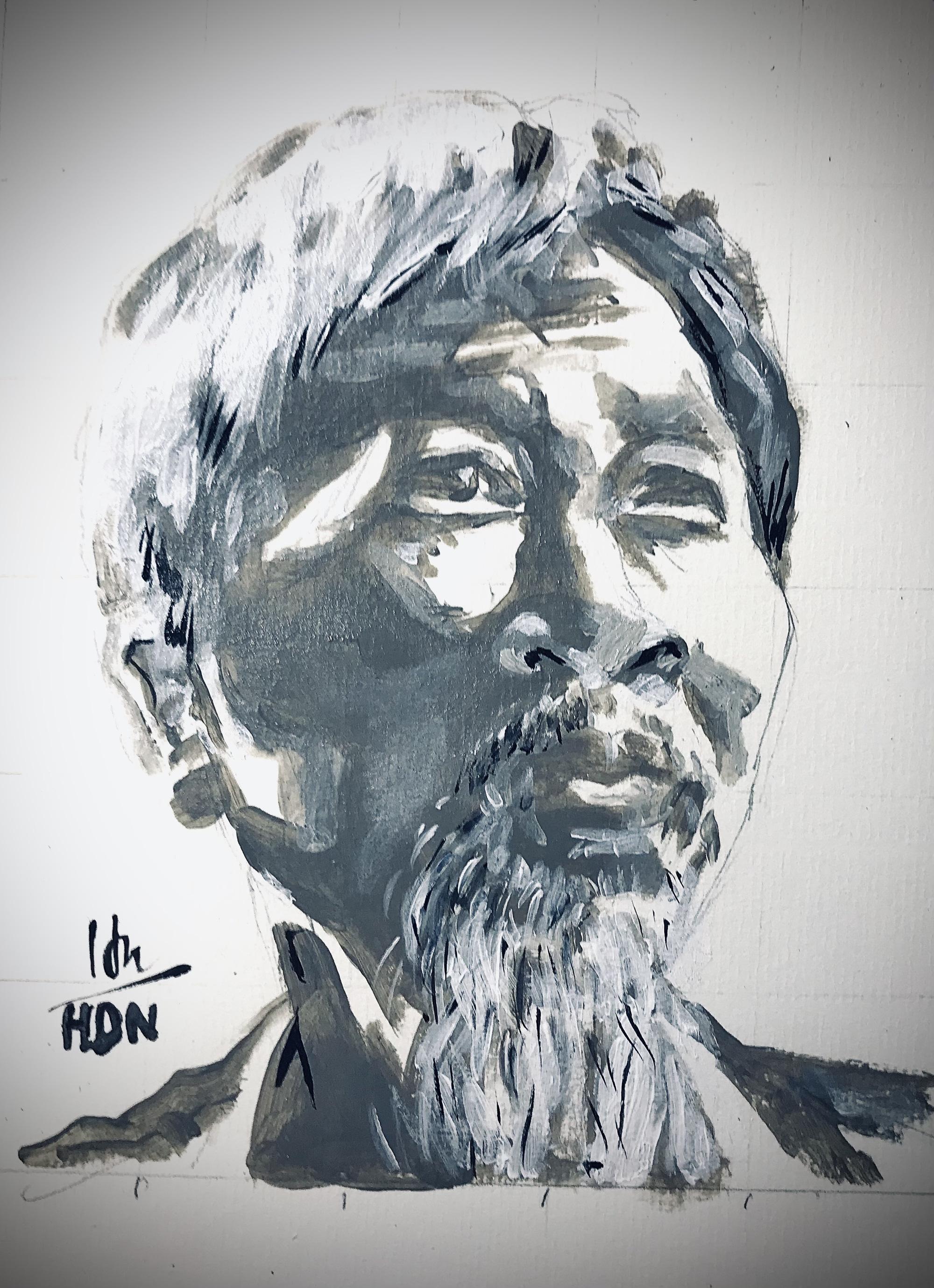 Chế tác từ một chế tác để tưởng nhớ nhà văn Nguyễn Huy Thiệp - Ảnh 1.