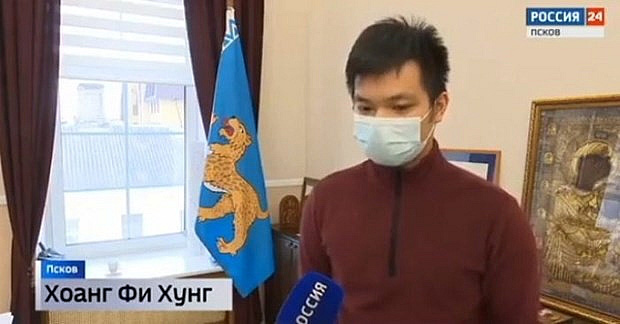 Cứu sống trẻ bị chìm ở sông băng, nam sinh người Việt ở Nga được tôn vinh - Ảnh 1.