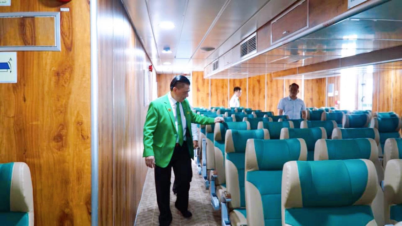 Những hình ảnh lung linh về tàu cao tốc Mai Linh - Ảnh 9.