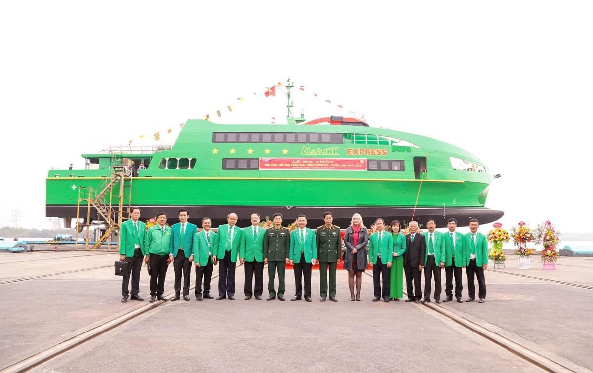 Những hình ảnh lung linh về tàu cao tốc Mai Linh - Ảnh 4.