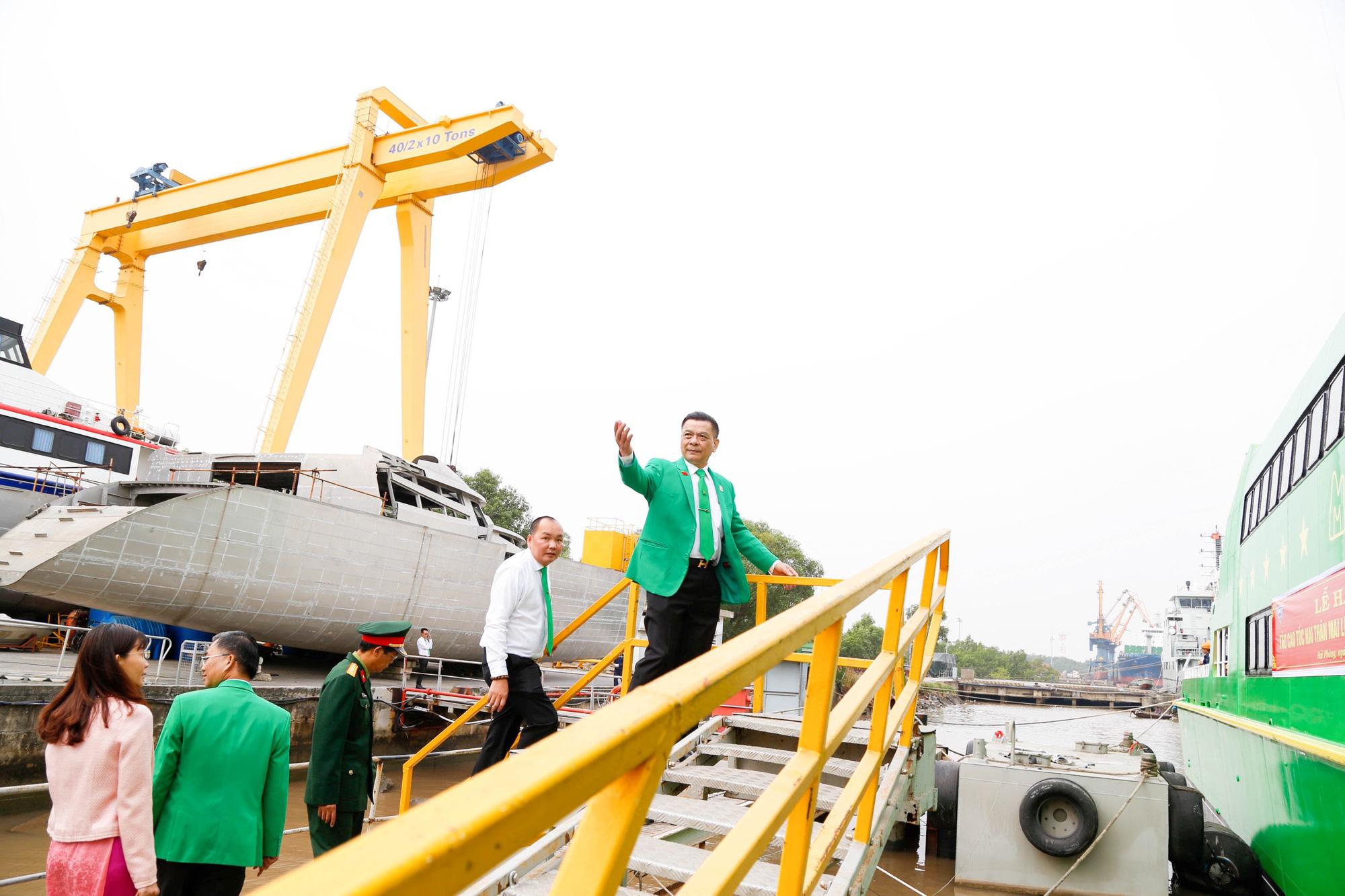 Những hình ảnh lung linh về tàu cao tốc Mai Linh - Ảnh 7.