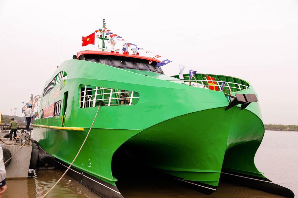 Những hình ảnh lung linh về tàu cao tốc Mai Linh - Ảnh 6.