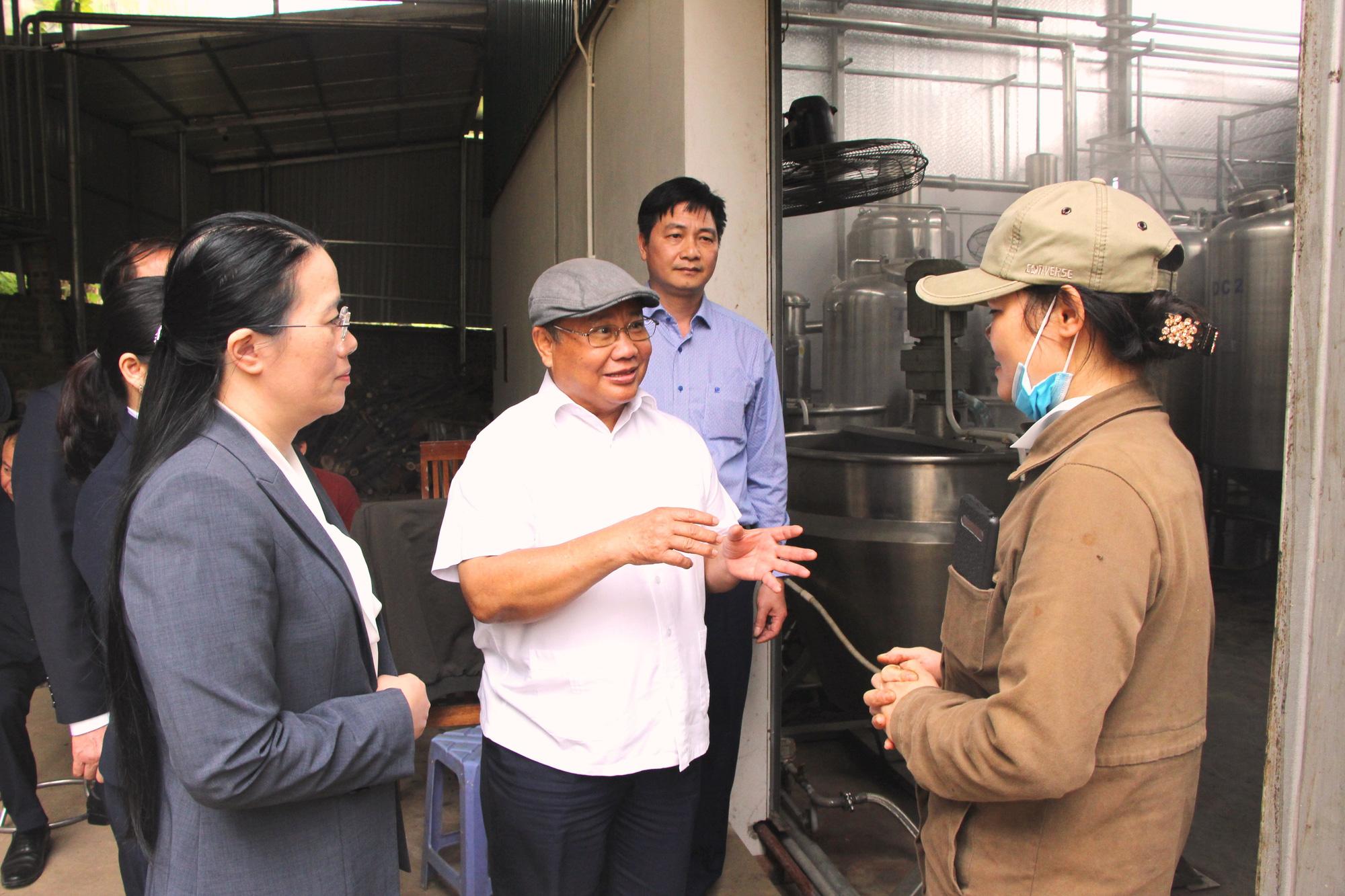 Phó Chủ tịch Hội Nông dân Việt Nam thăm nơi cả làng là người Dao làm nghề thuốc Nam - Ảnh 1.