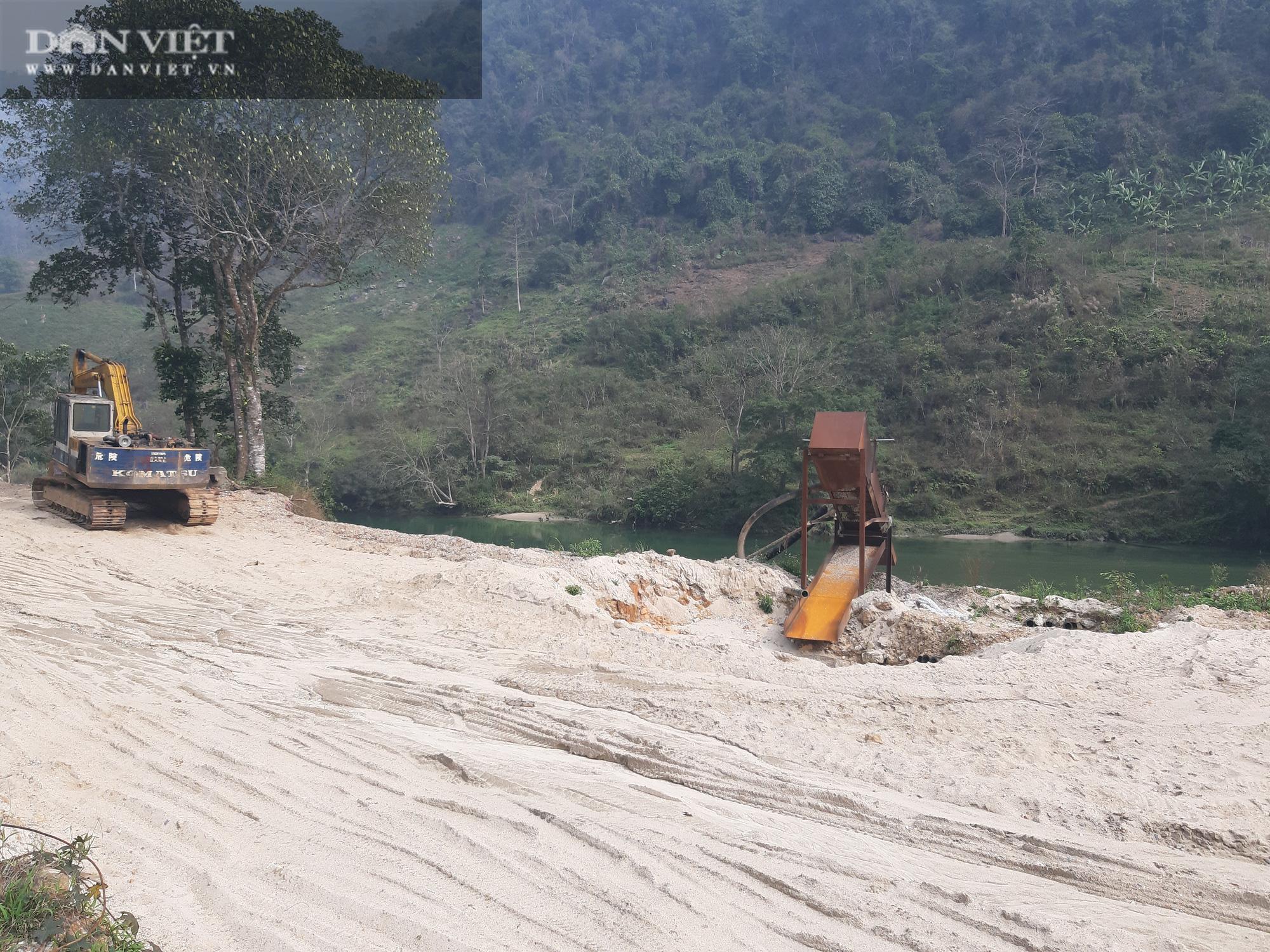 """""""Tảng băng chìm"""" quản lý khai thác cát ở sông Lô (Bài 2): Núp bóng """"Chương trình quốc gia"""" để khai thác cát trái phép - Ảnh 8."""