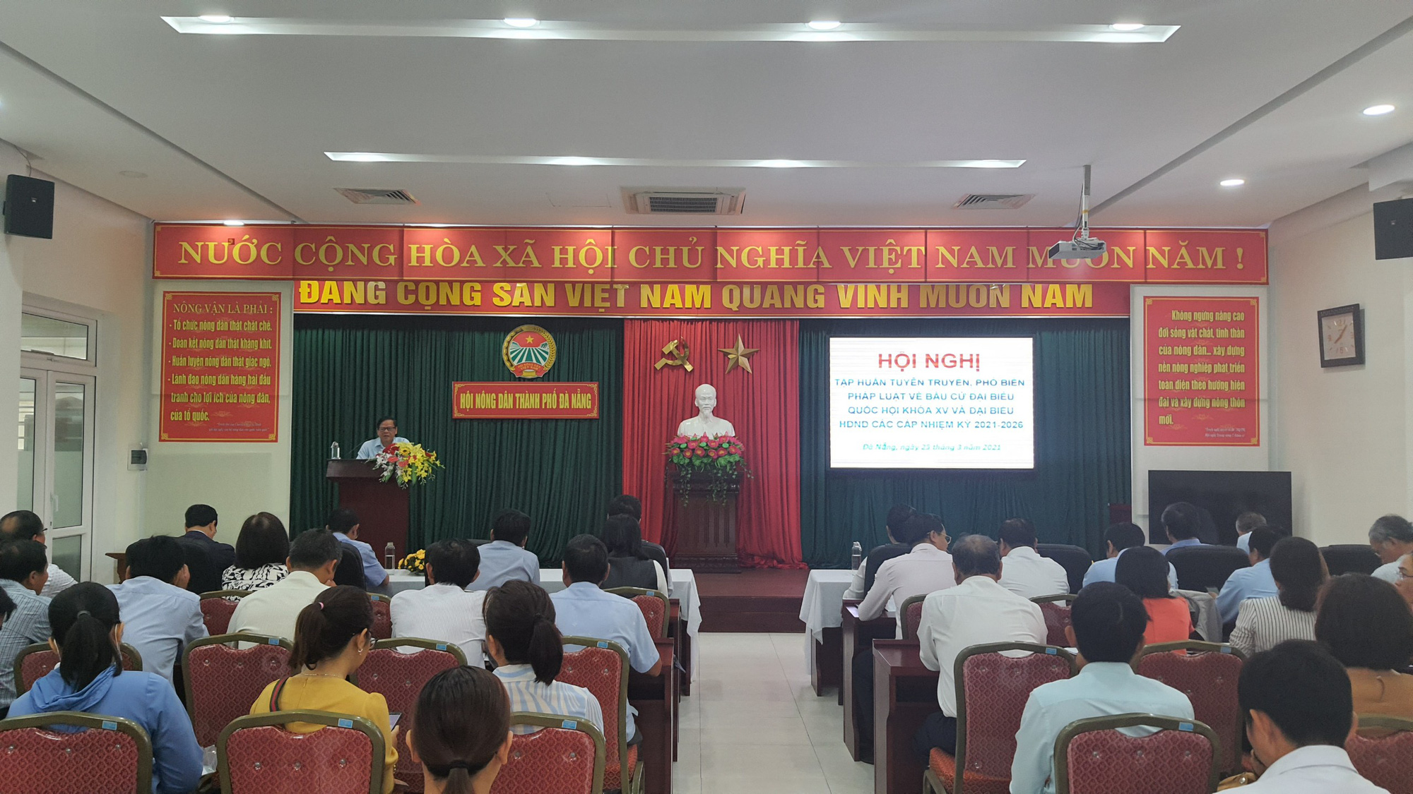 Hội Nông dân Đà Nẵng: Tổ chức triển khai Hội nghị tập huấn tuyên truyền, phổ biến pháp luật về bầu cử  - Ảnh 2.