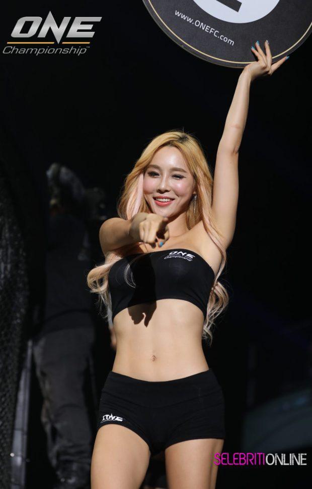Lee Jina: Ring girl Hàn Quốc xinh đẹp, đa tài và nổi tiếng châu Á - Ảnh 6.