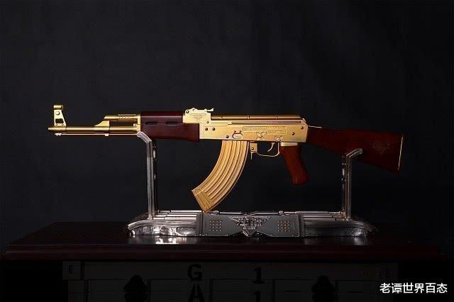 """4 khẩu súng đắt nhất thế giới, AK-47 vàng chỉ là hàng """"tép riu"""", vị trí """"trùm sò"""" mới thực sự bất ngờ - Ảnh 1."""