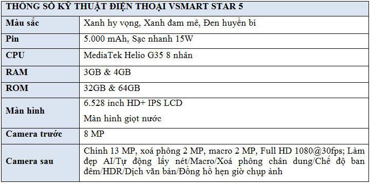 Vingroup ra mắt Vsmart Star 5 - Điện thoại kèm DATA 4G miễn phí tiên phong tại Việt Nam - Ảnh 10.