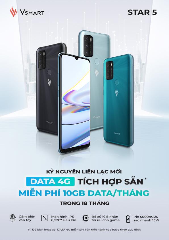 Vingroup ra mắt Vsmart Star 5 - Điện thoại kèm DATA 4G miễn phí tiên phong tại Việt Nam - Ảnh 9.
