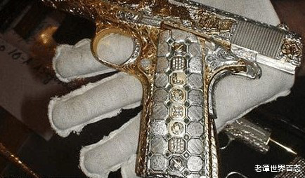 """4 khẩu súng đắt nhất thế giới, AK-47 vàng chỉ là hàng """"tép riu"""", vị trí """"trùm sò"""" mới thực sự bất ngờ - Ảnh 2."""