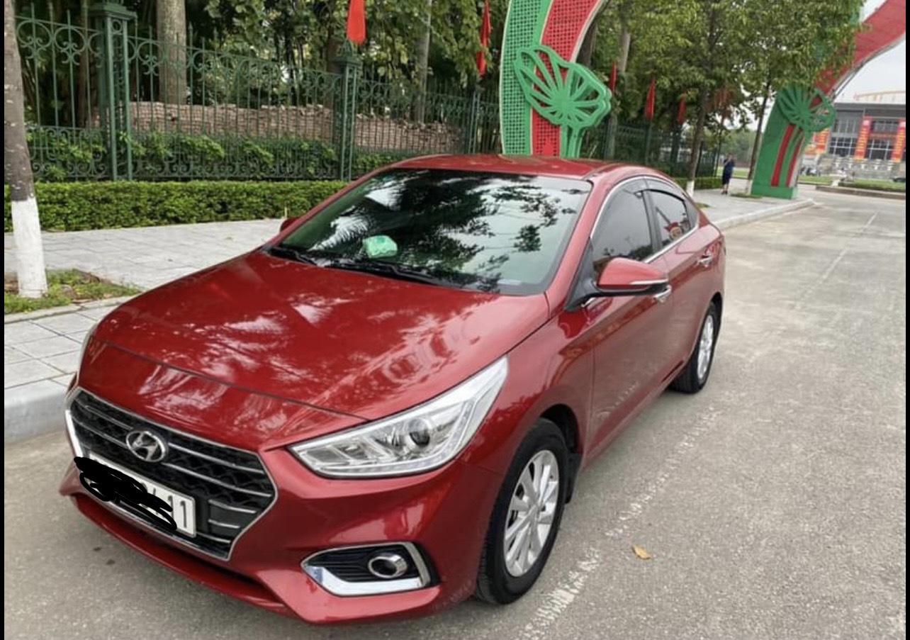 Hyundai Accent đời 2018, nữ sử dụng, rao bán giá giật mình - Ảnh 1.