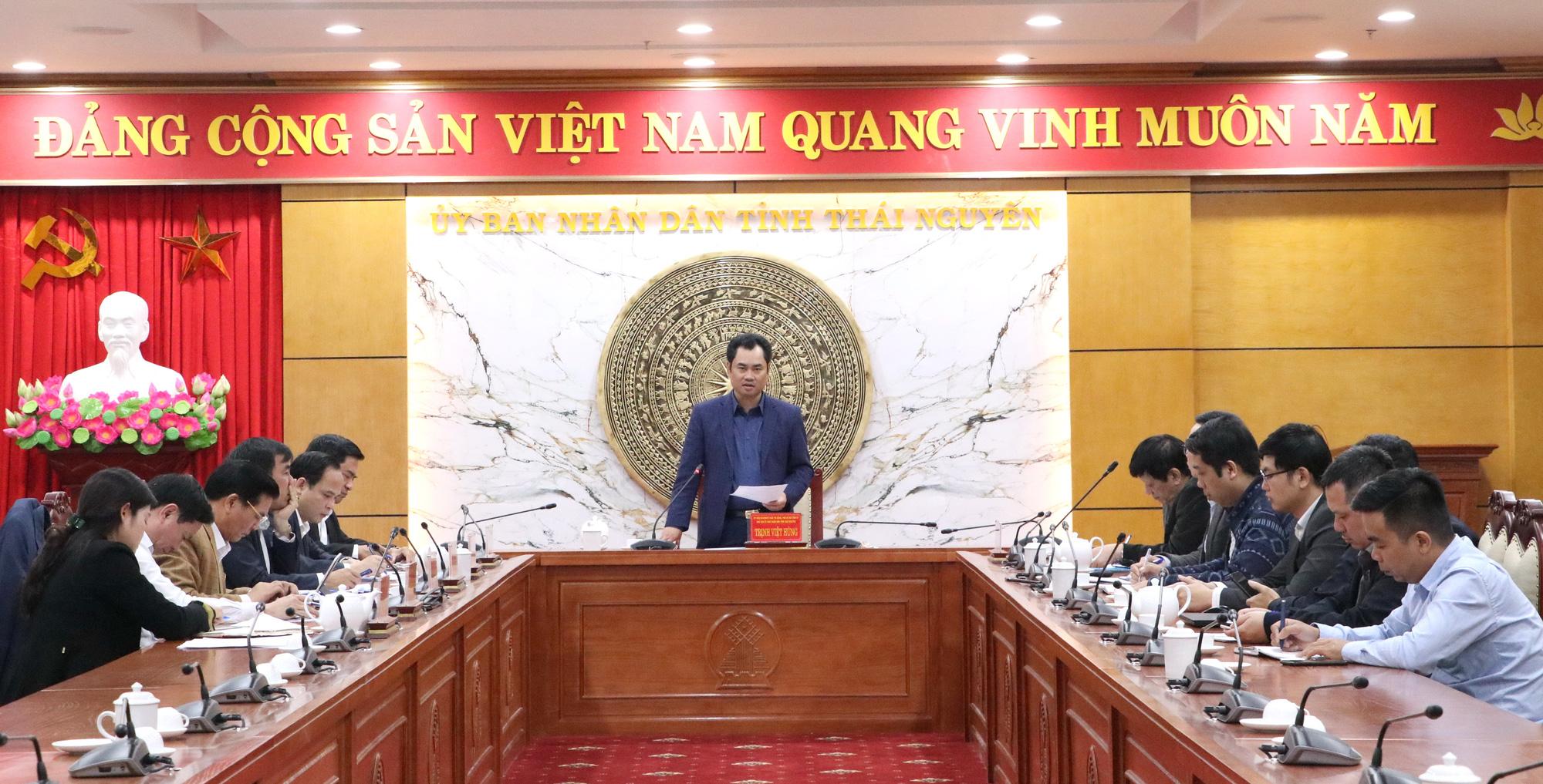 Thái Nguyên báo cáo tiến độ lập Quy hoạch tỉnh giai đoạn 2021 - 2030, tầm nhìn 2050 - Ảnh 1.