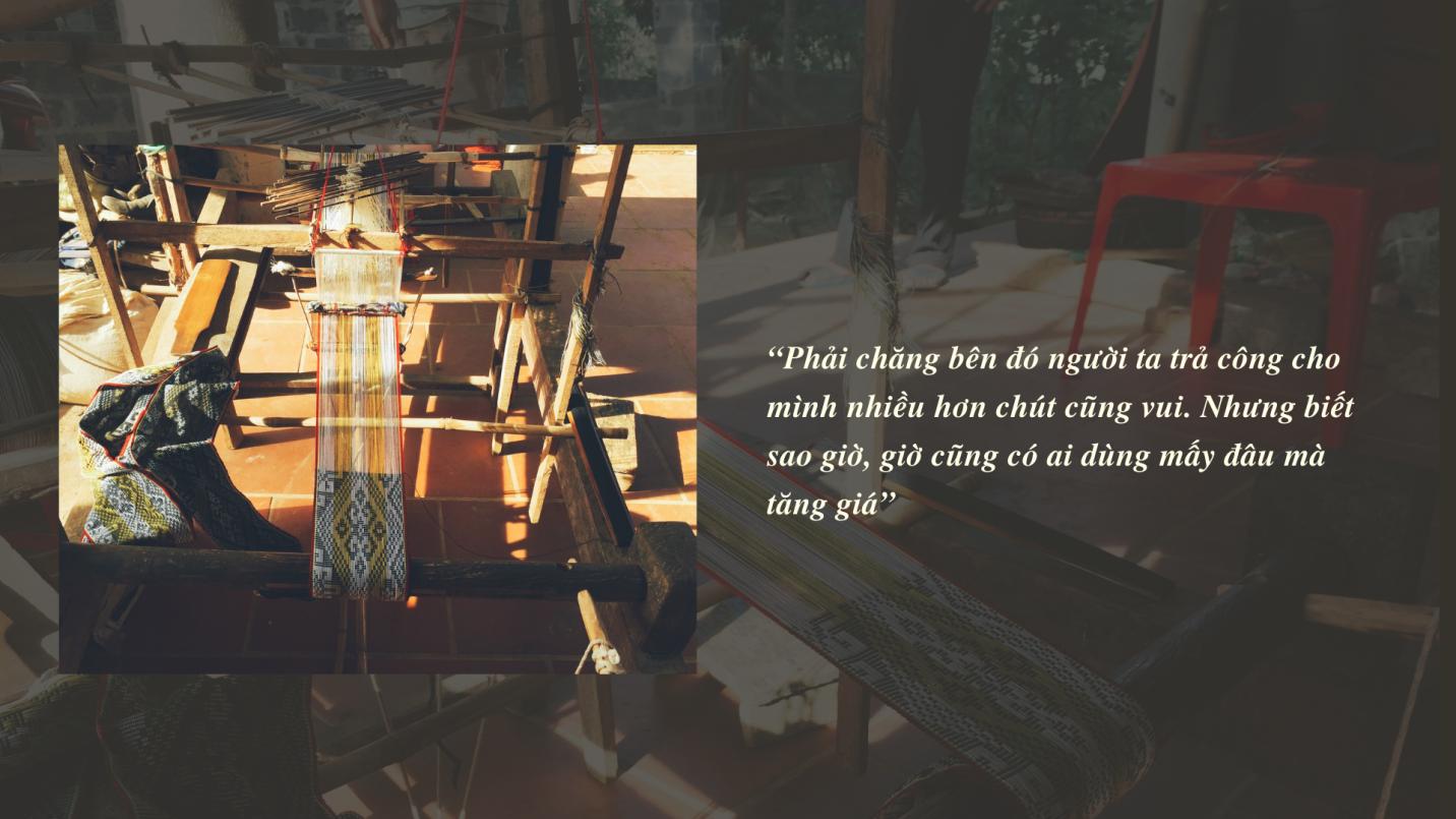 Kể chuyện làng: Nỗi lòng người dệt cạp váy xứ Mường - Ảnh 6.