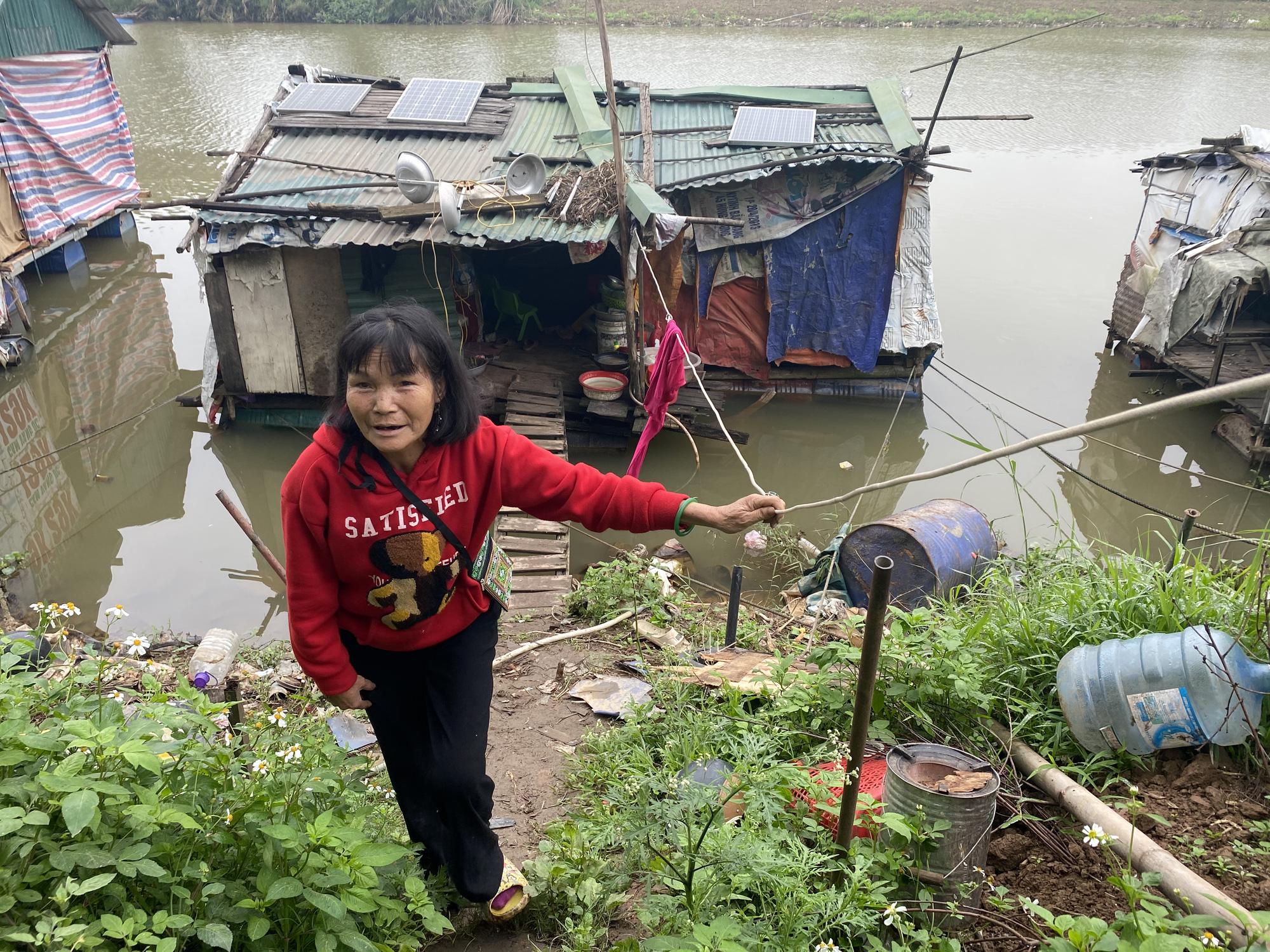 Cuộc sống cùng cực của người dân xóm chài Hà Nội và nỗi lo quy hoạch - Ảnh 4.