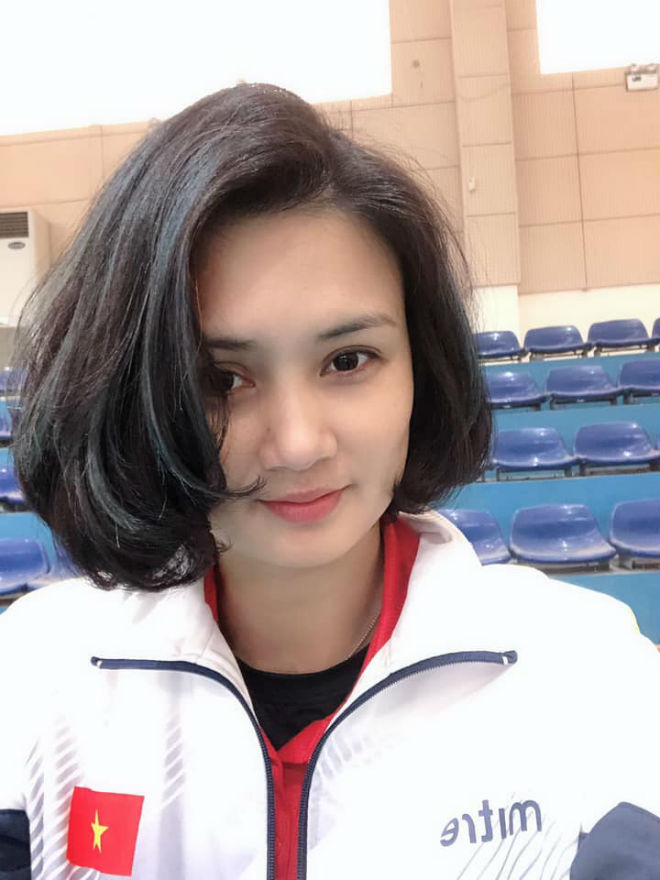 Hoa khôi bóng chuyền Kim Huệ tiết lộ sở thích mặc sexy - Ảnh 2.