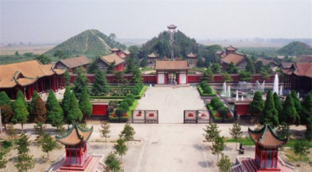 Lăng mộ hoàng đế nào xây trong nửa thế kỷ, lăng Tần Thủy Hoàng thua xa? - Ảnh 2.