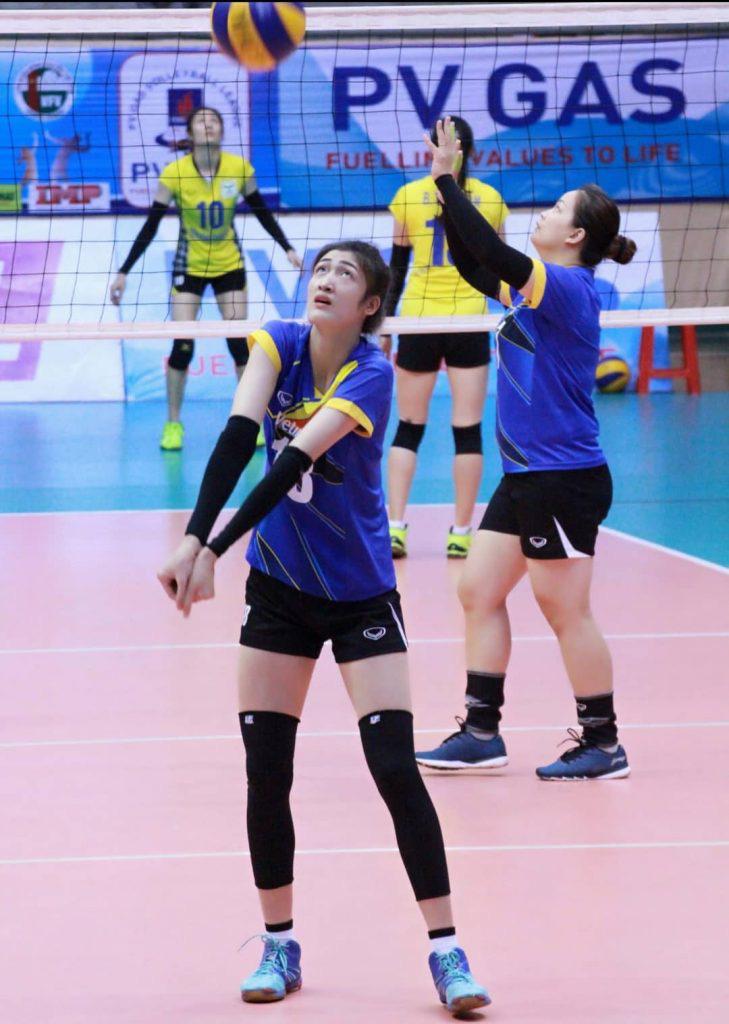Chân dài Lưu Thị Huệ 1m85: Tập bóng đá, nhưng lại thành tuyển thủ... bóng chuyền - Ảnh 3.