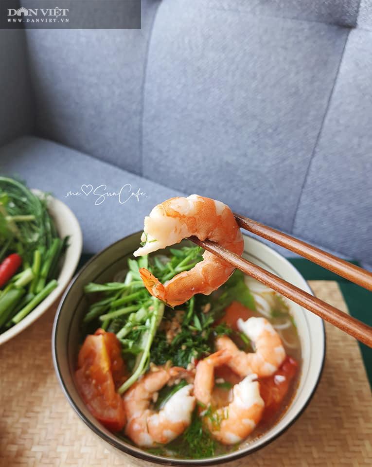 Mách bạn cách nấu món bún tôm đơn giản nhất tại nhà - Ảnh 7.