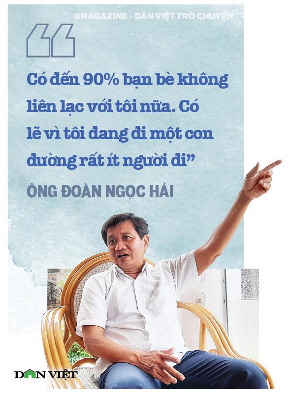 Ông Đoàn Ngọc Hải (nguyên Phó Chủ tịch UBND quận 1, TPHCM): Tôi đang đi trên một con đường rất ít người đi  - Ảnh 2.