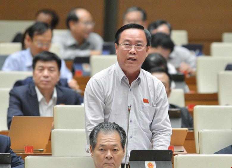 """ĐBQH Nguyễn Quốc Hận: Chính phủ còn quá """"hiền lành"""" trong thực hiện chức năng, nhiệm vụ - Ảnh 1."""