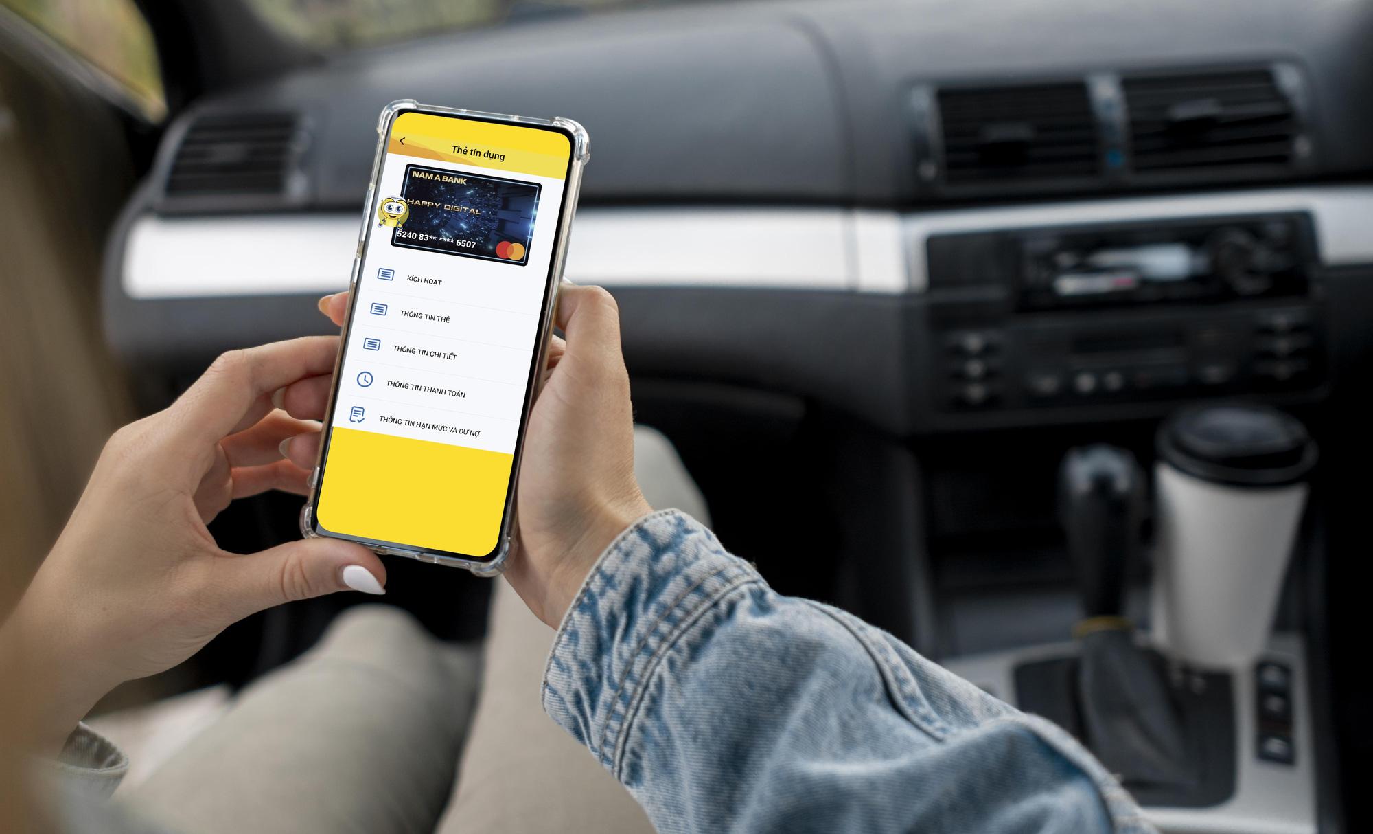 Nam A Bank ra mắt thẻ tín dụng phi vật lý, đáp ứng xu hướng của thời đại 4.0 - Ảnh 1.