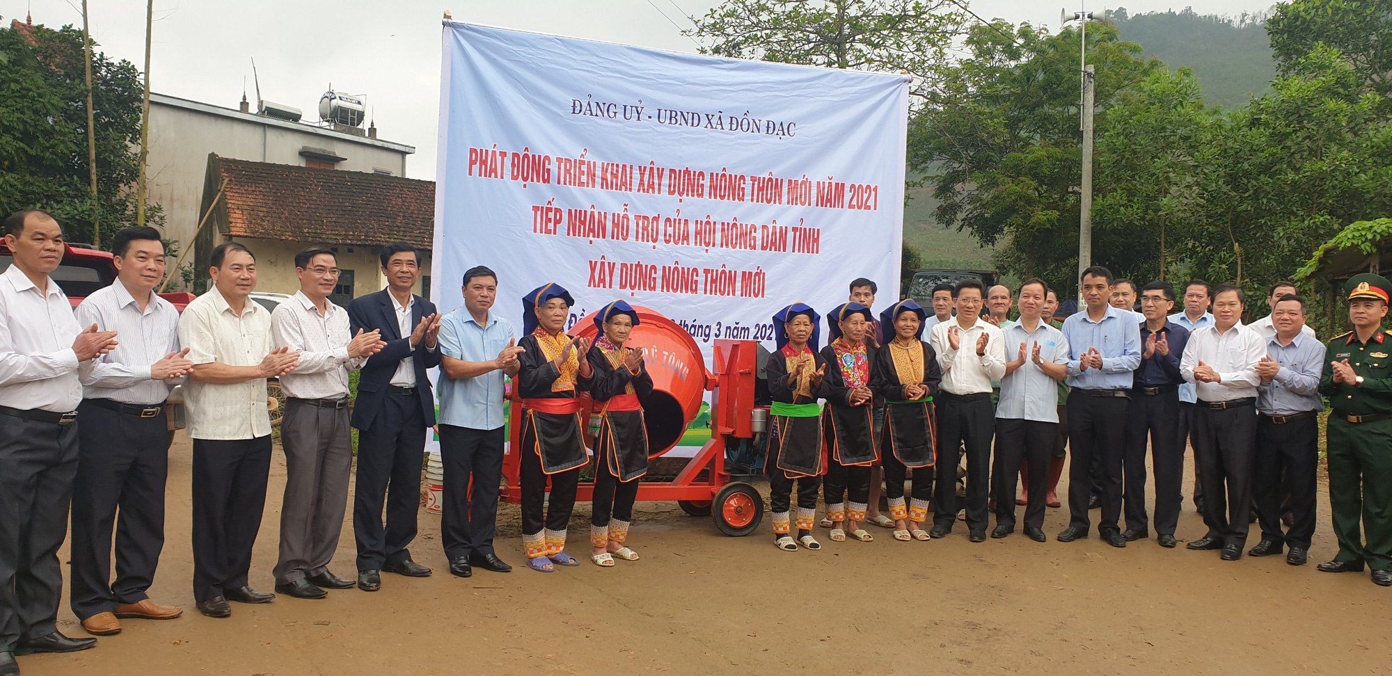 Hội Nông dân tỉnh Quảng Ninh chung tay giúp Đồn Đạc xây dựng nông thôn mới - Ảnh 1.