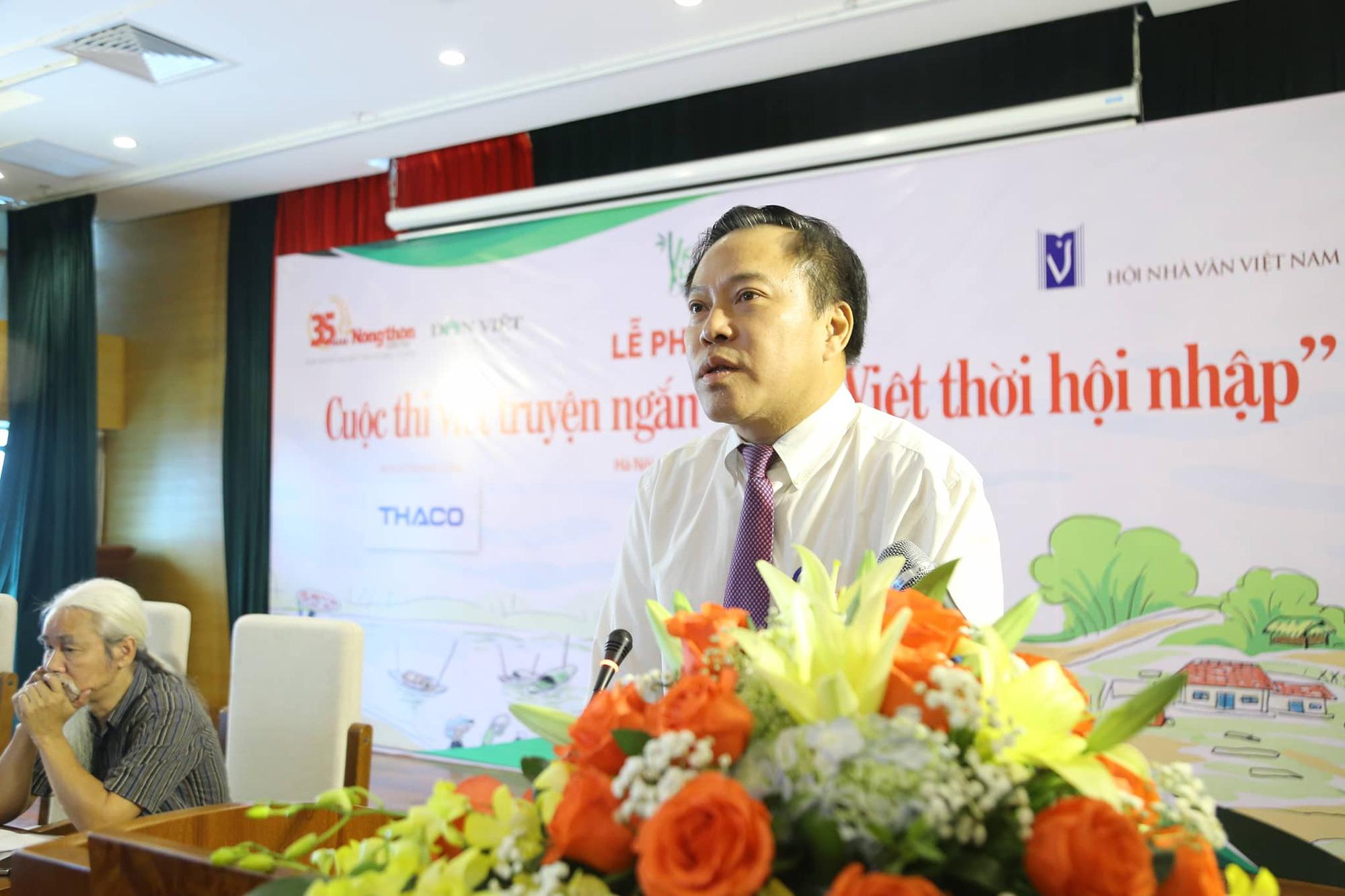 """Báo NTNN công bố quyết định thành lập Ban Tổ chức, Ban Giám khảo cuộc thi viết truyện ngắn """"Làng Việt thời hội nhập"""" - Ảnh 1."""