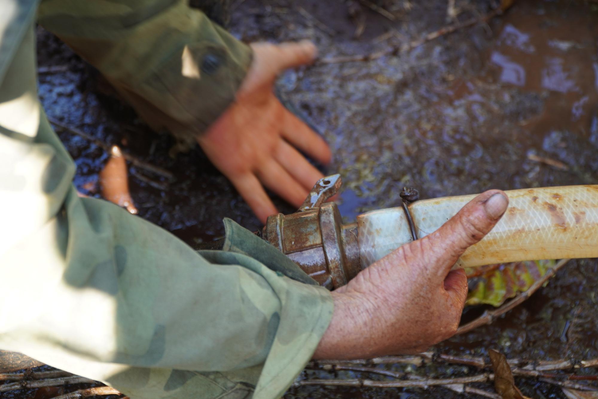 Nông dân Gia Lai hối hả đưa máy móc tưới cho cà phê sai quả - Ảnh 6.