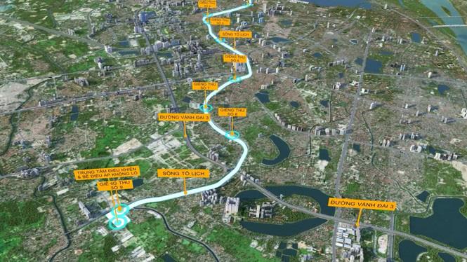 Chuyên gia nói gì về ý tưởng làm cao tốc ngầm dưới sông Tô Lịch? - Ảnh 1.
