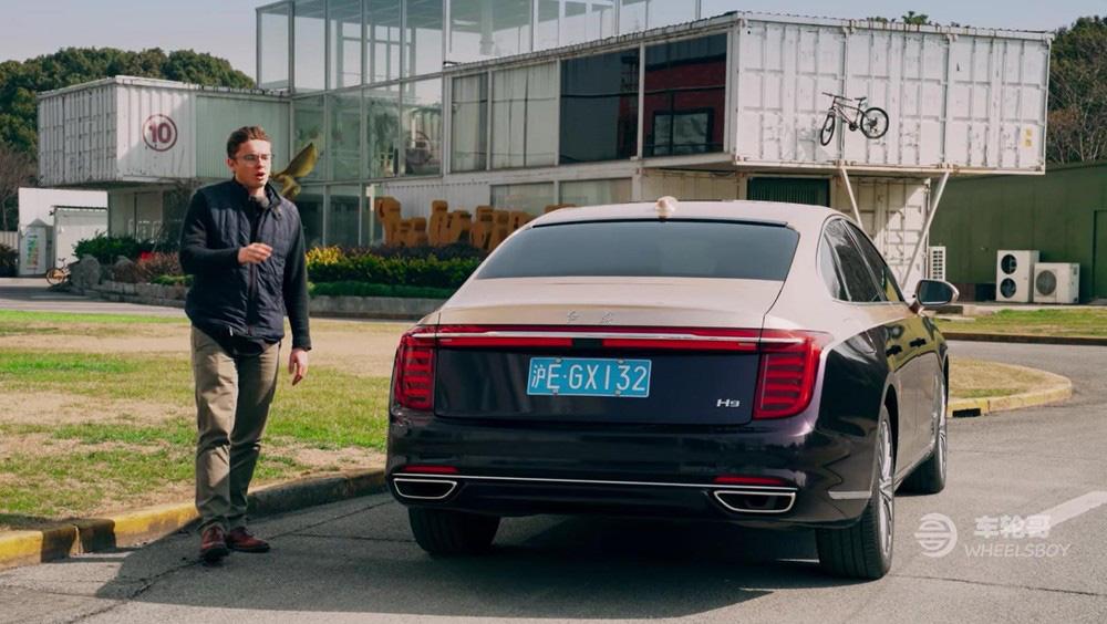 """Xe Trung Quốc Hồng Kỳ H9 """"tiền nào của nấy"""" - Ảnh 4."""