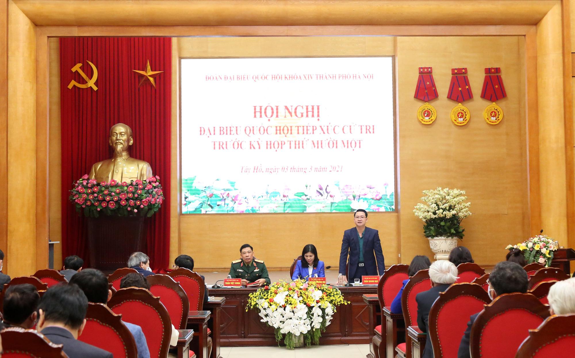 Cử tri mong Tổng Bí thư, Chủ tịch nước Nguyễn Phú Trọng có nhiều sức khỏe để cống hiến - Ảnh 1.