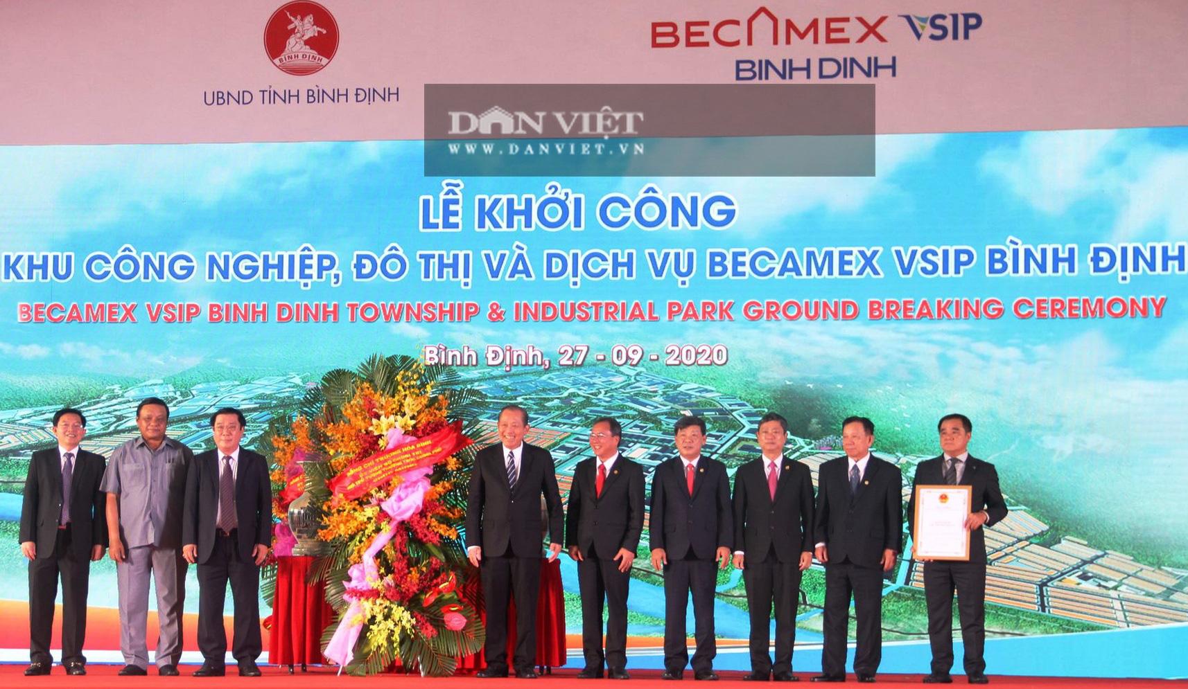 """Chủ tịch Bình Định: """"Không để lấn chiếm, xây dựng trái phép tại dự án trọng điểm Becamex"""" - Ảnh 2."""