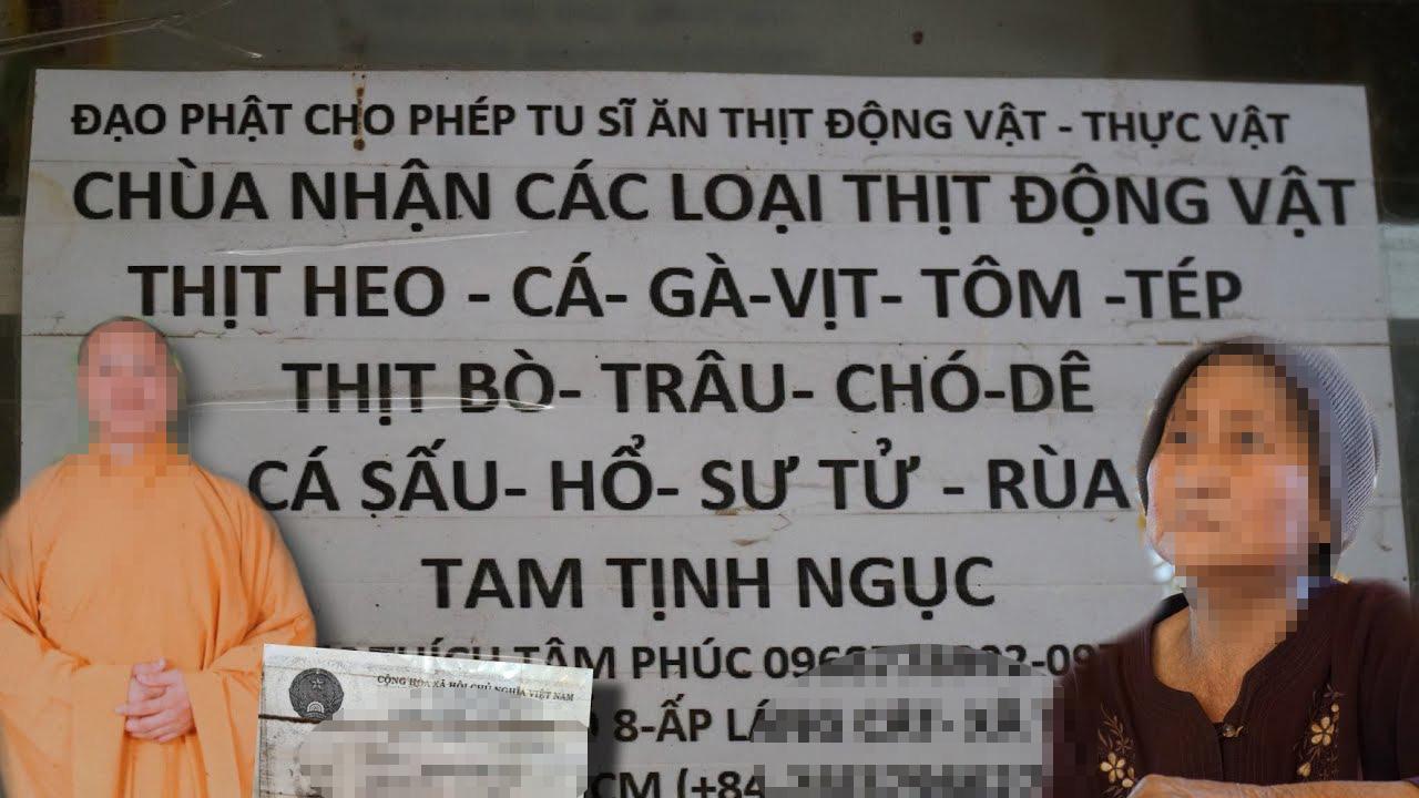 Công an mời nhiều Youtuber quay nội dung Thầy chùa ăn thịt chó ở Củ Chi - Ảnh 3.