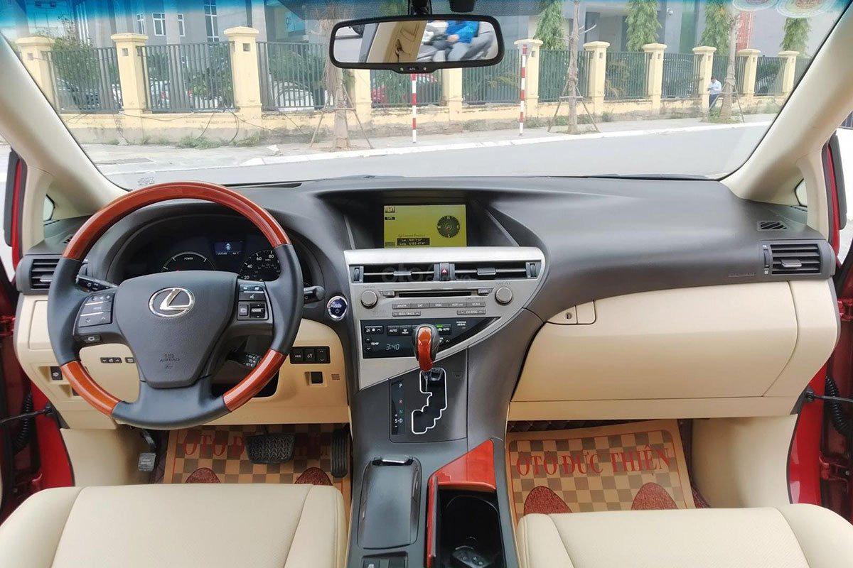 Khu vực điều khiển xe Lexus RX 450h 2010 1