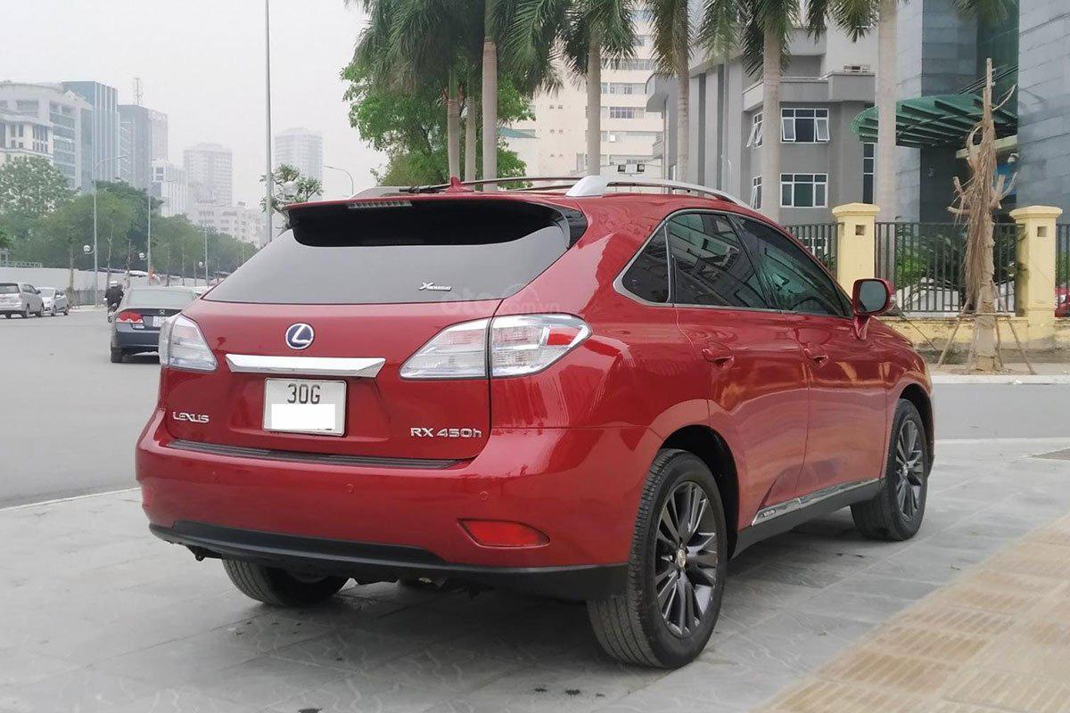 Thiết kế đuôi xe Lexus RX 450h 2010 1