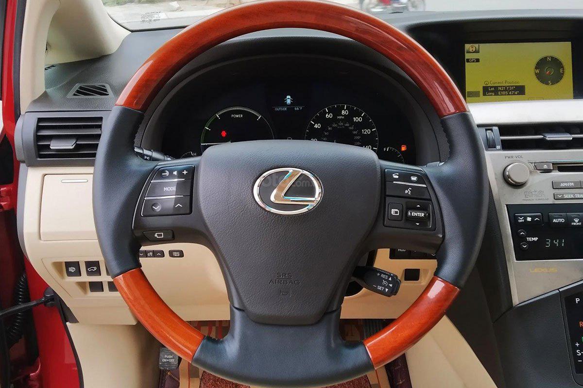 Vô lăng xe Lexus RX 450h 2010 1