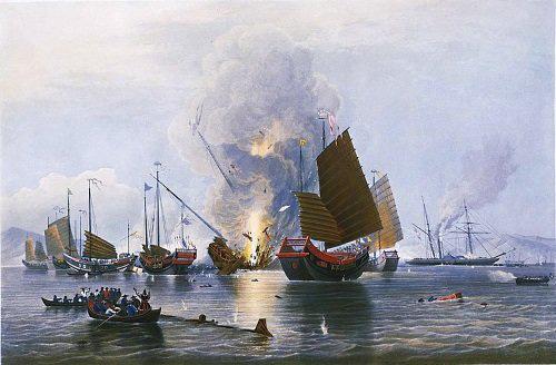 """Mãn Thanh từng """"mượn"""" mẫu tàu chiến Việt Nam để đối đầu phương Tây - Ảnh 1."""