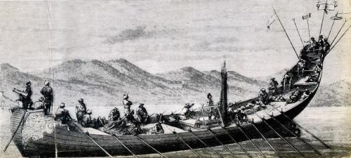 """Mãn Thanh từng """"mượn"""" mẫu tàu chiến Việt Nam để đối đầu phương Tây - Ảnh 2."""