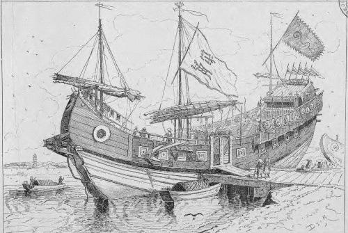 """Mãn Thanh từng """"mượn"""" mẫu tàu chiến Việt Nam để đối đầu phương Tây - Ảnh 3."""